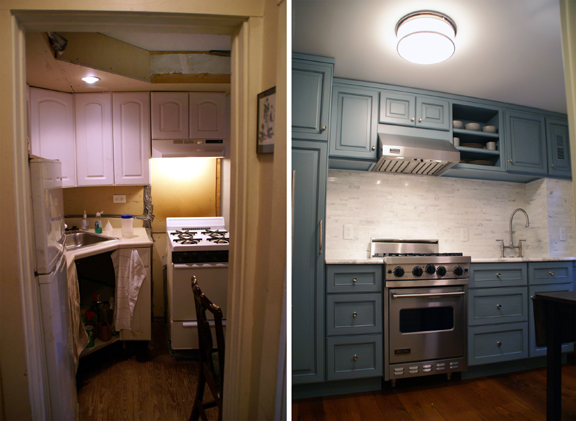 Trinity Kitchen Before & After 2