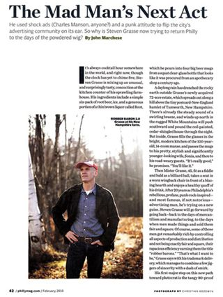 Philadelphia Magazine Steven Grasse