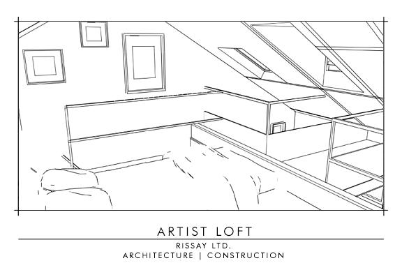 In the Loft- Left
