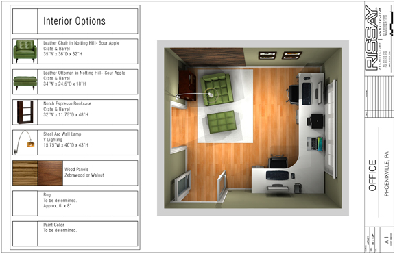 Home Office Plan