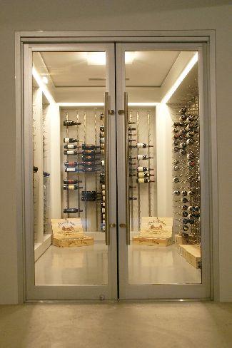 2 Wine Cellar Entry