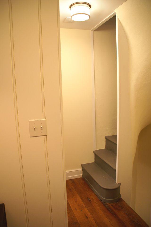 Hallway & Spiral Stairs