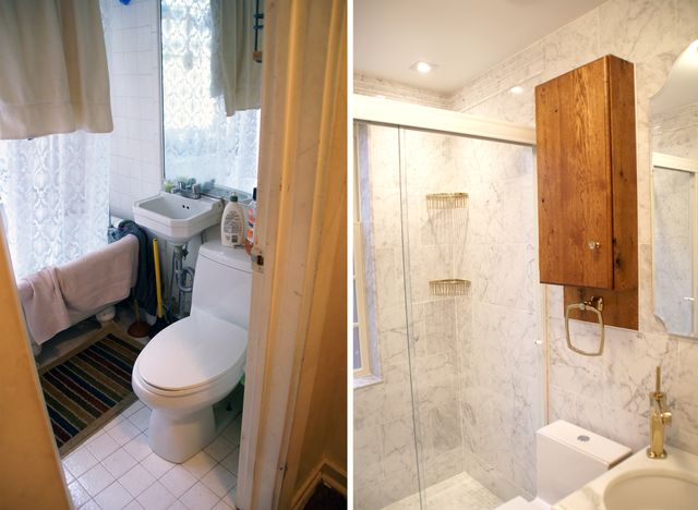 Bathroom Before & After 2