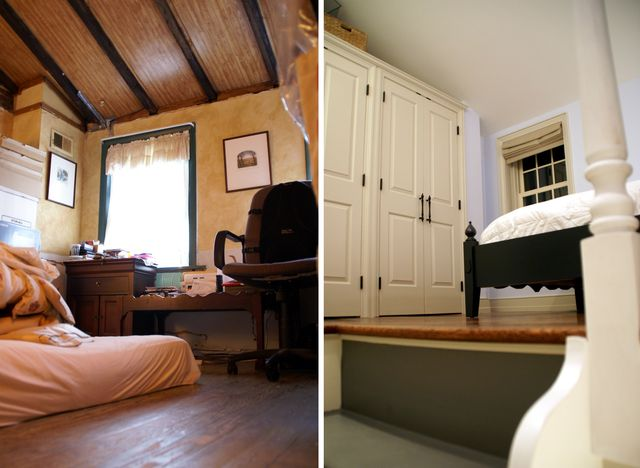 Bedroom- Before & After