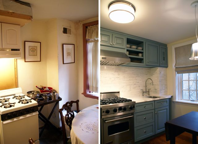 Kitchen- Before & After