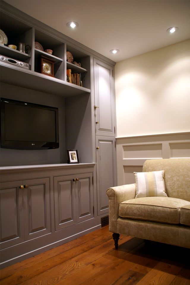 Trinity- Completed: Entertainment Center Close-up
